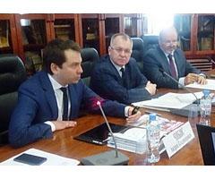 Участие в заседании Торгово-Промышленной Палаты Российской федерации.