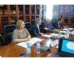 Участие в заседании ТПП РФ по развитию газового рынка.