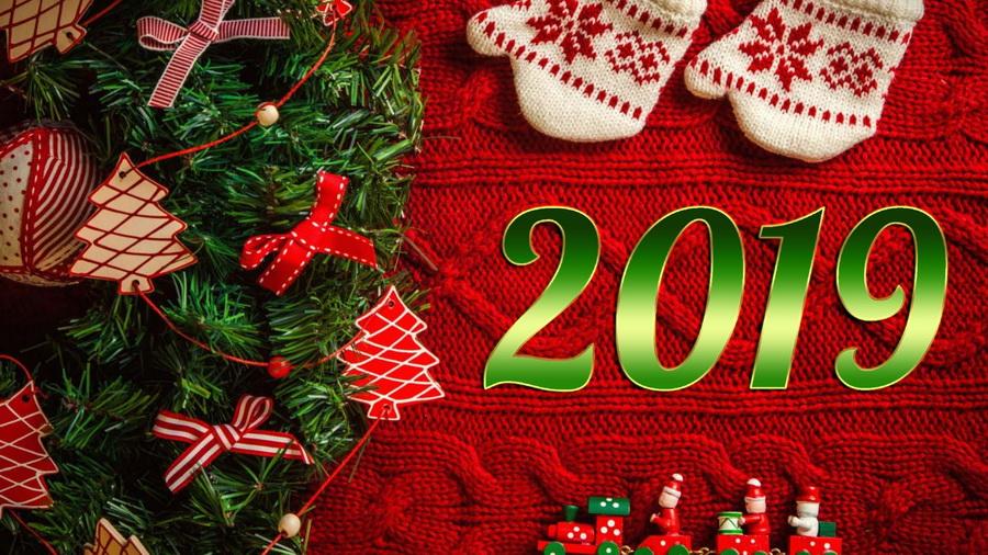 Поздравление с Новым годом 2019!