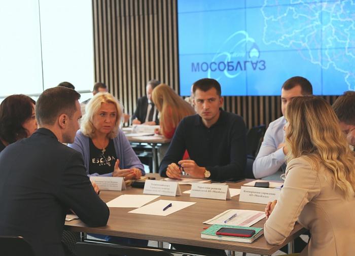 Круглый стол с предпринимателями в Мособлгаз